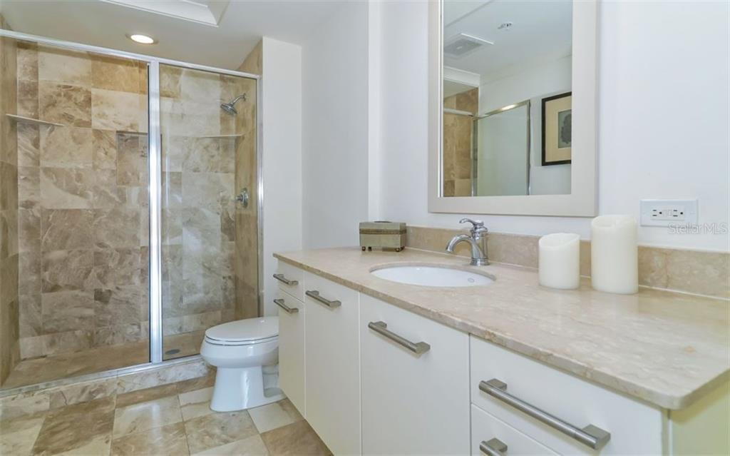 Guest bath - Condo for sale at 1350 Main St #608, Sarasota, FL 34236 - MLS Number is A4206707