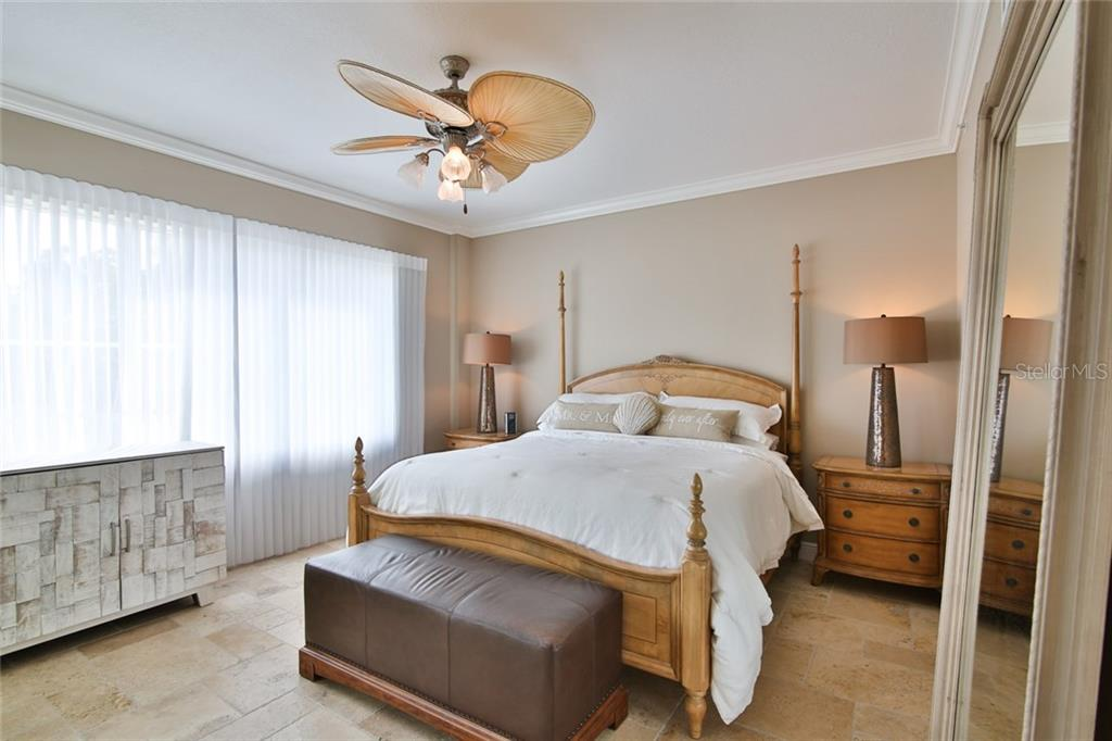 Master Bedroom-lots of natural light! - Condo for sale at 1310 Old Stickney Point Rd #e21, Sarasota, FL 34242 - MLS Number is A4209502