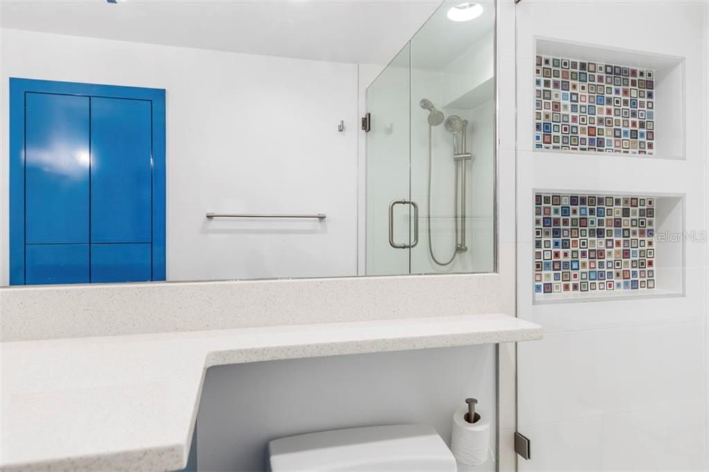 Spare bathroom completely remodeled - Condo for sale at 6140 Midnight Pass Rd #608, Sarasota, FL 34242 - MLS Number is A4209897
