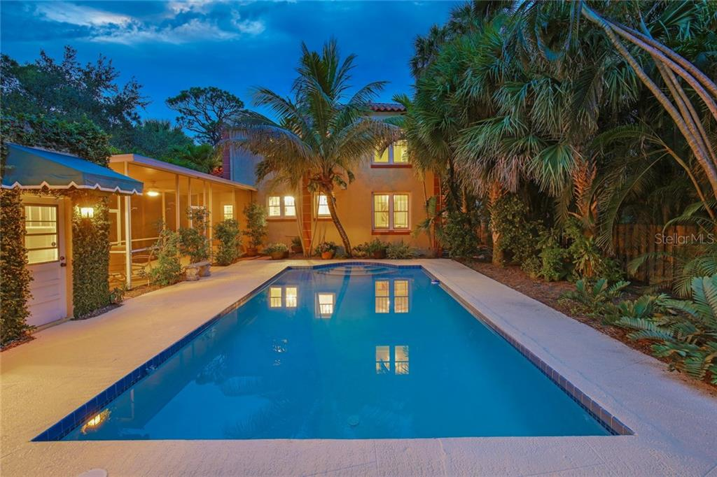 Pool - Single Family Home for sale at 1874 Wisteria St, Sarasota, FL 34239 - MLS Number is A4211659