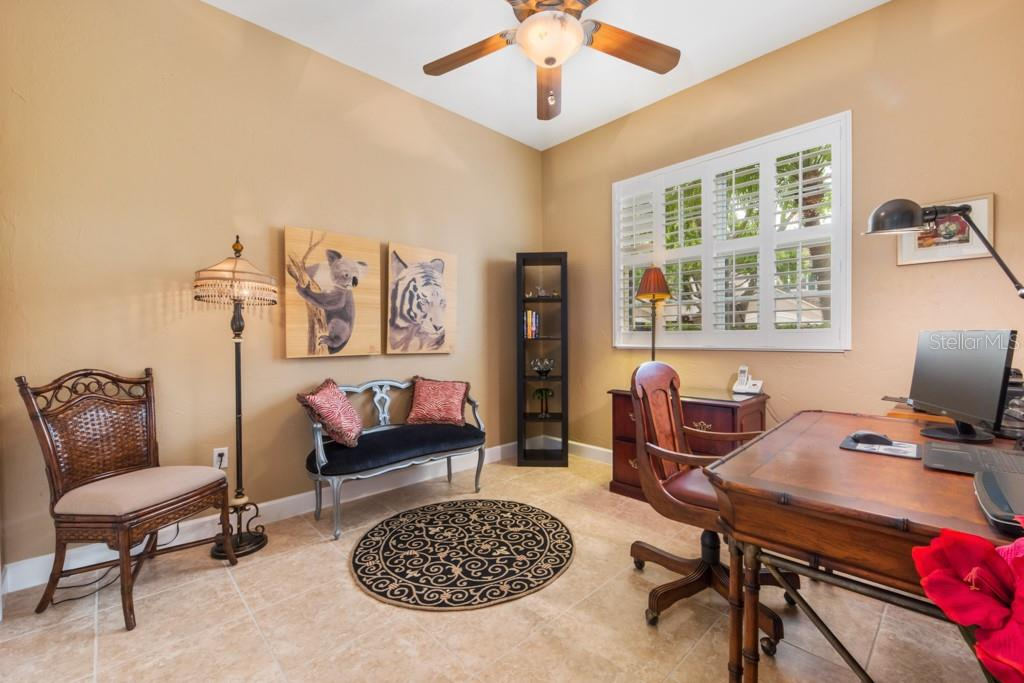 Very nice office/Den or 3rd BR 13 X 11 - Condo for sale at 7504 Botanica Pkwy #101, Sarasota, FL 34238 - MLS Number is A4213208