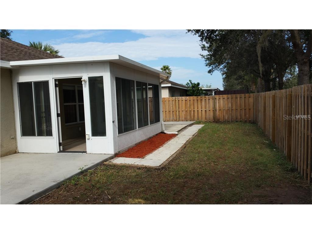 Fenced yard - Single Family Home for sale at 4124 Malickson Dr, Parrish, FL 34219 - MLS Number is A4214761
