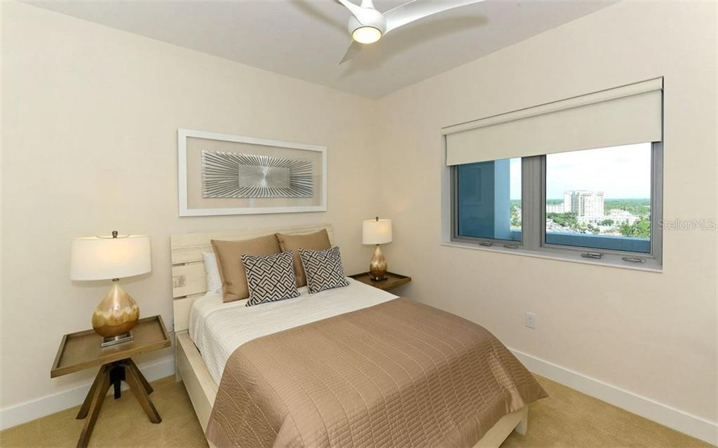 Guest room - Condo for sale at 1155 N Gulfstream Ave #1504, Sarasota, FL 34236 - MLS Number is A4215032