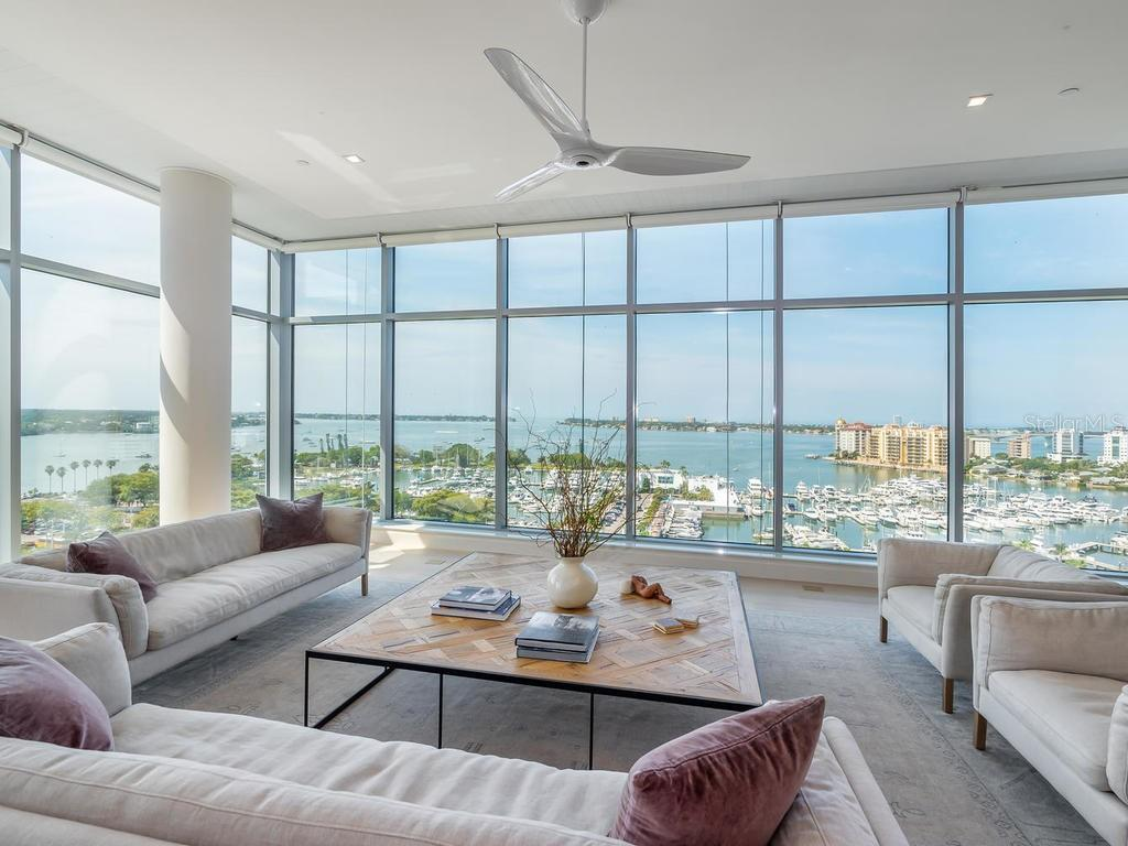 Vitalizing Views! - Condo for sale at 1301 Main St #1001, Sarasota, FL 34236 - MLS Number is A4402790
