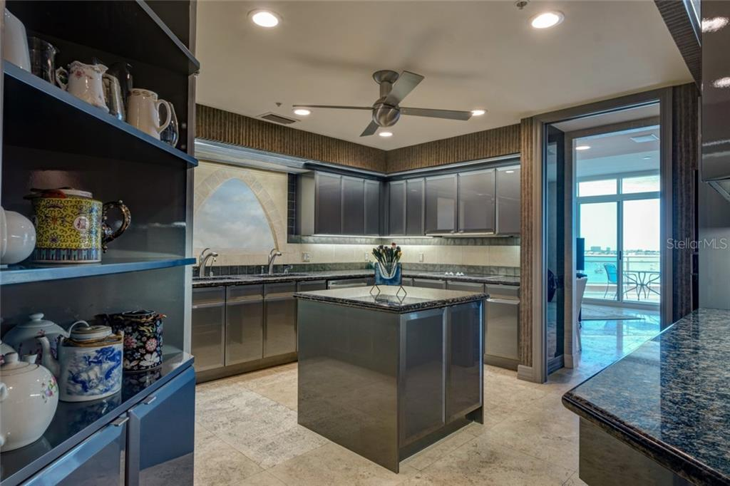 Neff Custom built Cabinetry - Condo for sale at 340 S Palm Ave #412, Sarasota, FL 34236 - MLS Number is A4403968