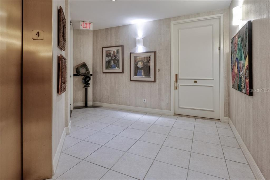 From the elevators to the home - Condo for sale at 340 S Palm Ave #412, Sarasota, FL 34236 - MLS Number is A4403968
