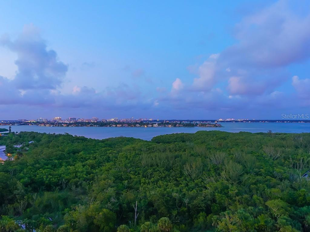 Captivating Nature/Preserve and City Views - Condo for sale at 1300 Benjamin Franklin Dr #1008, Sarasota, FL 34236 - MLS Number is A4405360