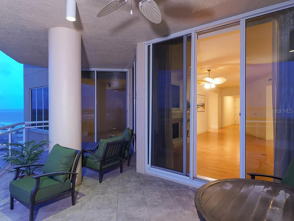 Wrap Around Terrace - Condo for sale at 1300 Benjamin Franklin Dr #1008, Sarasota, FL 34236 - MLS Number is A4405360