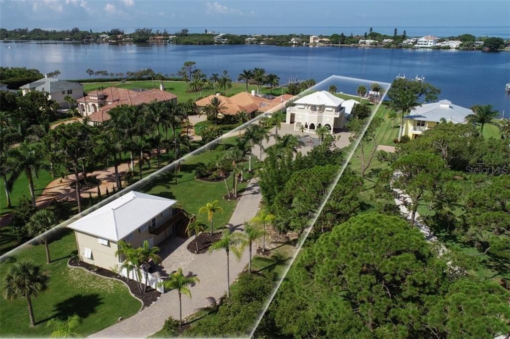 Beautiful 1.33 Acre Bay Front Home with a 2 unit Guest/Rental House - Single Family Home for sale at 1778 Bayshore Dr, Englewood, FL 34223 - MLS Number is A4405962