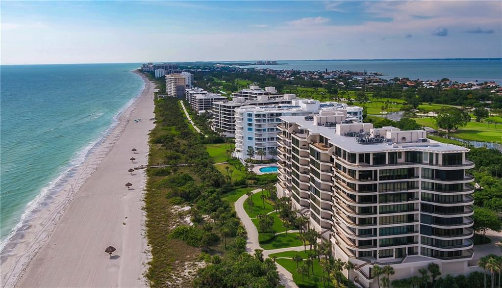 Direct gulf front, pristine private beach. - Condo for sale at 435 L Ambiance Dr #k806, Longboat Key, FL 34228 - MLS Number is A4406683