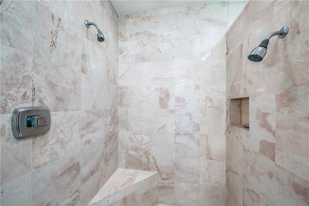 Shower in Master Bath - Condo for sale at 435 L Ambiance Dr #k806, Longboat Key, FL 34228 - MLS Number is A4406683