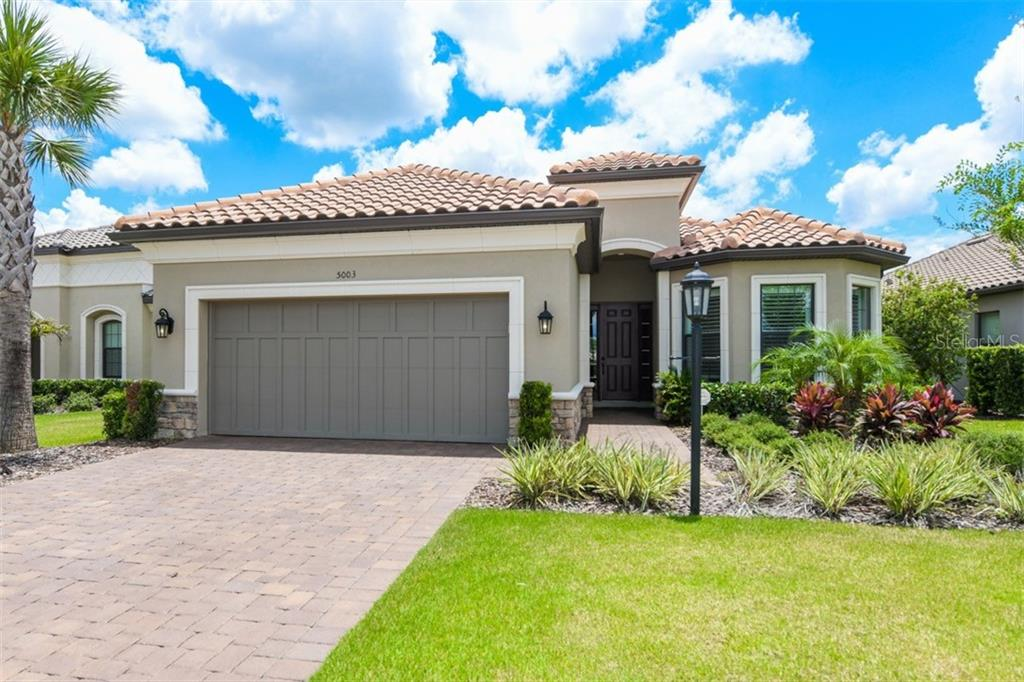 Survey - Single Family Home for sale at 5003 Napoli Run, Bradenton, FL 34211 - MLS Number is A4407812