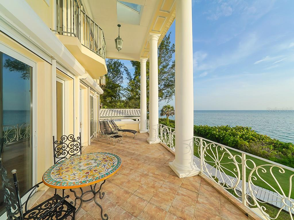200ft of Private Beachfront - Glowing Sunsets - Single Family Home for sale at 916 N Casey Key Rd, Osprey, FL 34229 - MLS Number is A4408082