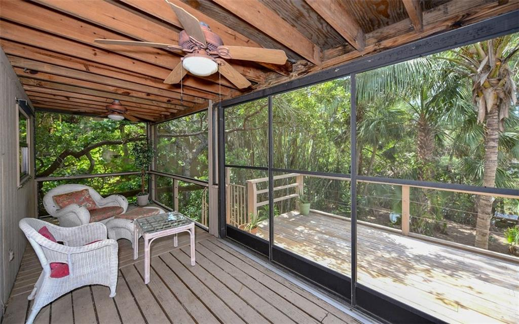 Screened Porch off Kitchen and Great Room - Single Family Home for sale at 1238 Sea Plume Way, Sarasota, FL 34242 - MLS Number is A4408272