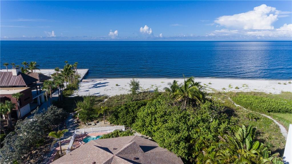 Lot side 96' x 600' - Single Family Home for sale at 6661 Gulf Of Mexico Dr, Longboat Key, FL 34228 - MLS Number is A4410988