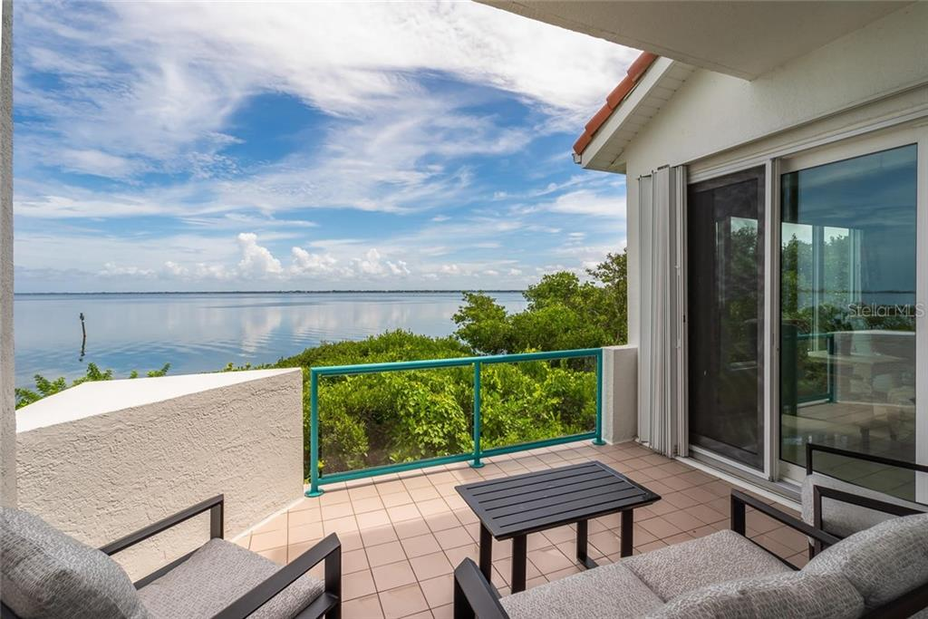 Stunning view of the Bay from your private back terrace! - Condo for sale at 340 Gulf Of Mexico Dr #116, Longboat Key, FL 34228 - MLS Number is A4411000