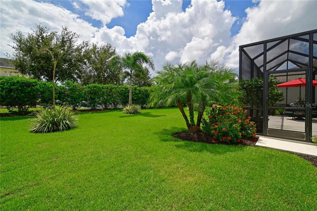 Backyard - Single Family Home for sale at 11508 Griffith Park Ter, Bradenton, FL 34211 - MLS Number is A4412167