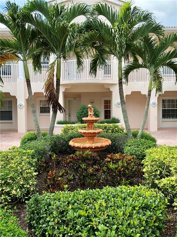 FOUNTAIN AT BUILDING ENTRANCE - Condo for sale at 4232 Central Sarasota Pkwy #822, Sarasota, FL 34238 - MLS Number is A4412786