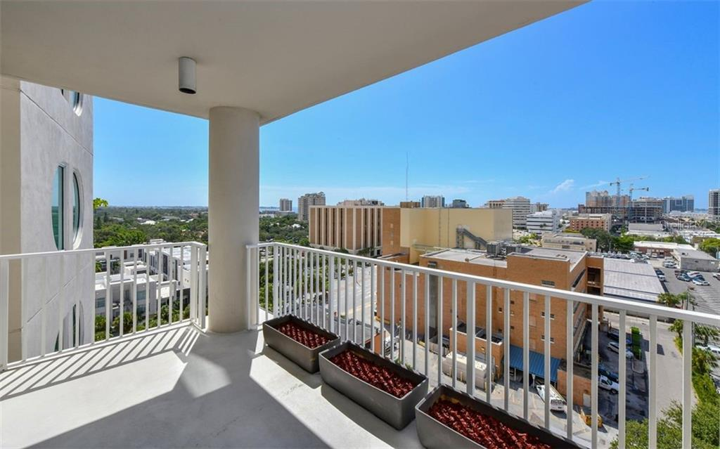 Large Balcony - Condo for sale at 1771 Ringling Blvd #1011, Sarasota, FL 34236 - MLS Number is A4414630