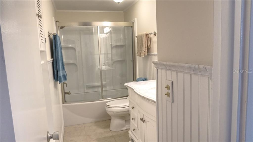 Beautiful Guest bathroom. - Villa for sale at 682 Spanish Dr S, Longboat Key, FL 34228 - MLS Number is A4414905