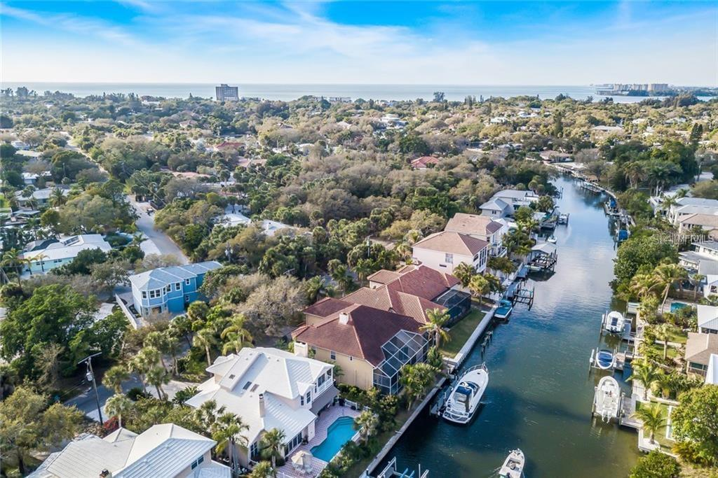 Grand Canal view - Single Family Home for sale at 4963 Oxford Dr, Sarasota, FL 34242 - MLS Number is A4417783