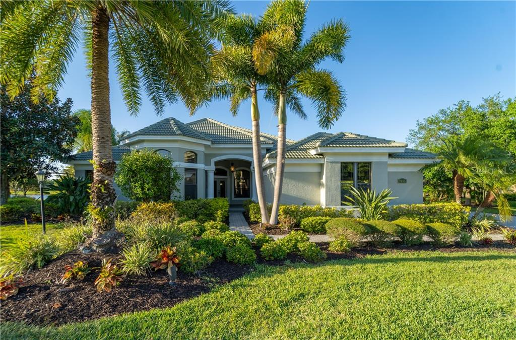 Floor plan, green certificate, and site plan - Single Family Home for sale at 7445 Preservation Dr, Sarasota, FL 34241 - MLS Number is A4418584