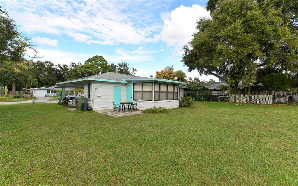 Back View - Single Family Home for sale at 2408 Arlington St, Sarasota, FL 34239 - MLS Number is A4418939