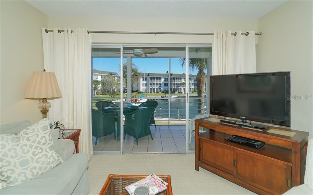 View from Living Room and Lanai - Condo for sale at 4370 Chatham Dr #204, Longboat Key, FL 34228 - MLS Number is A4421600