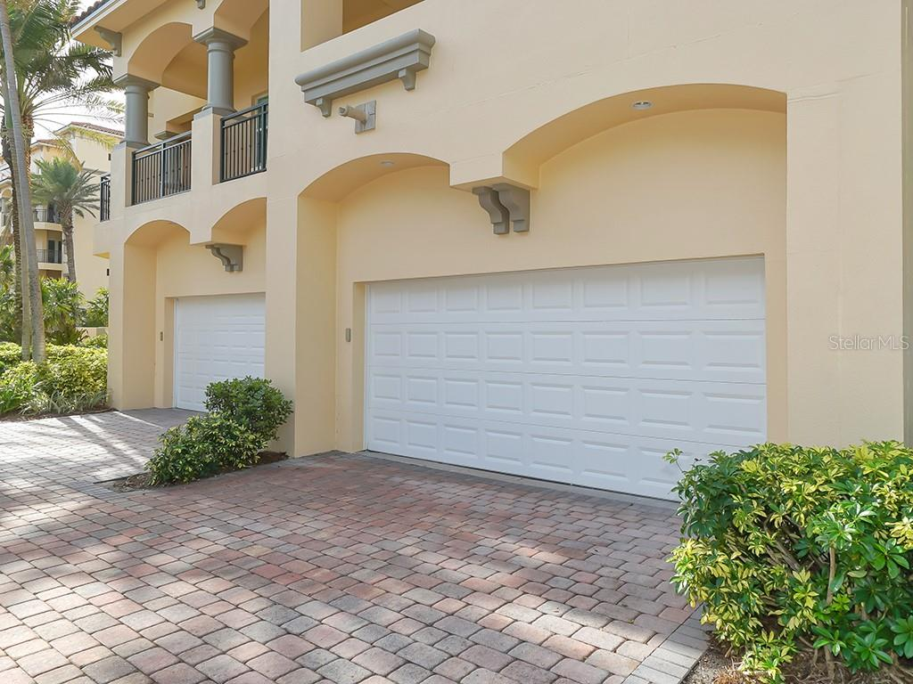 Private 2 Car garage - Condo for sale at 2399 Gulf Of Mexico Dr #3c3, Longboat Key, FL 34228 - MLS Number is A4421722
