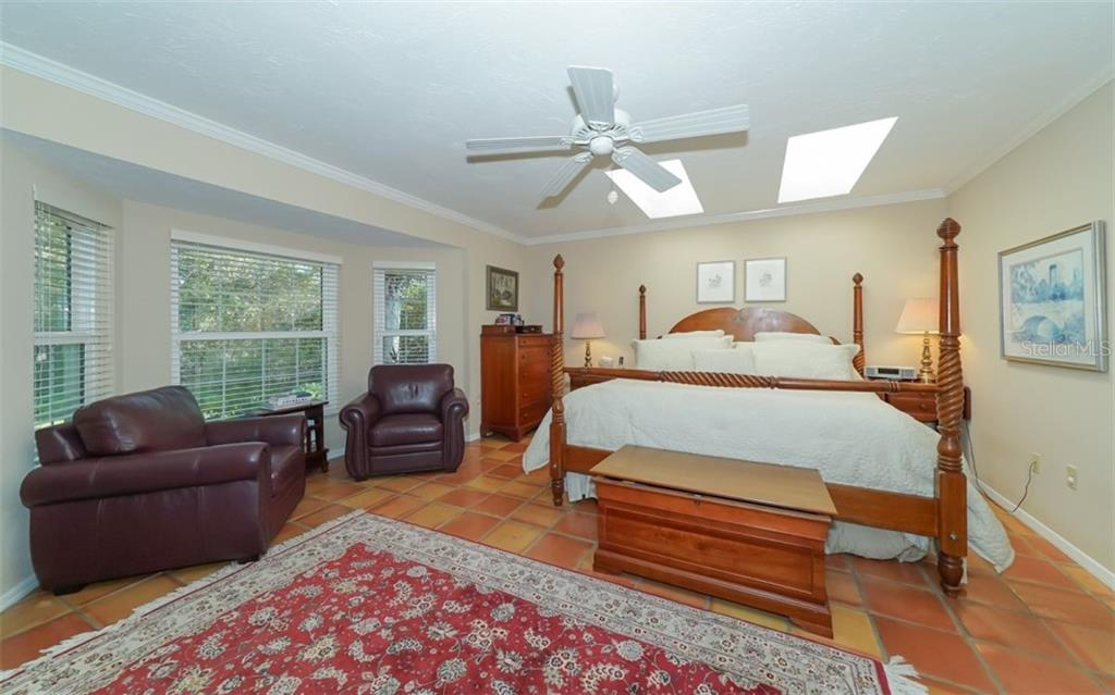 A master bedroom with space to relax - Single Family Home for sale at 510 63rd St Nw, Bradenton, FL 34209 - MLS Number is A4424601