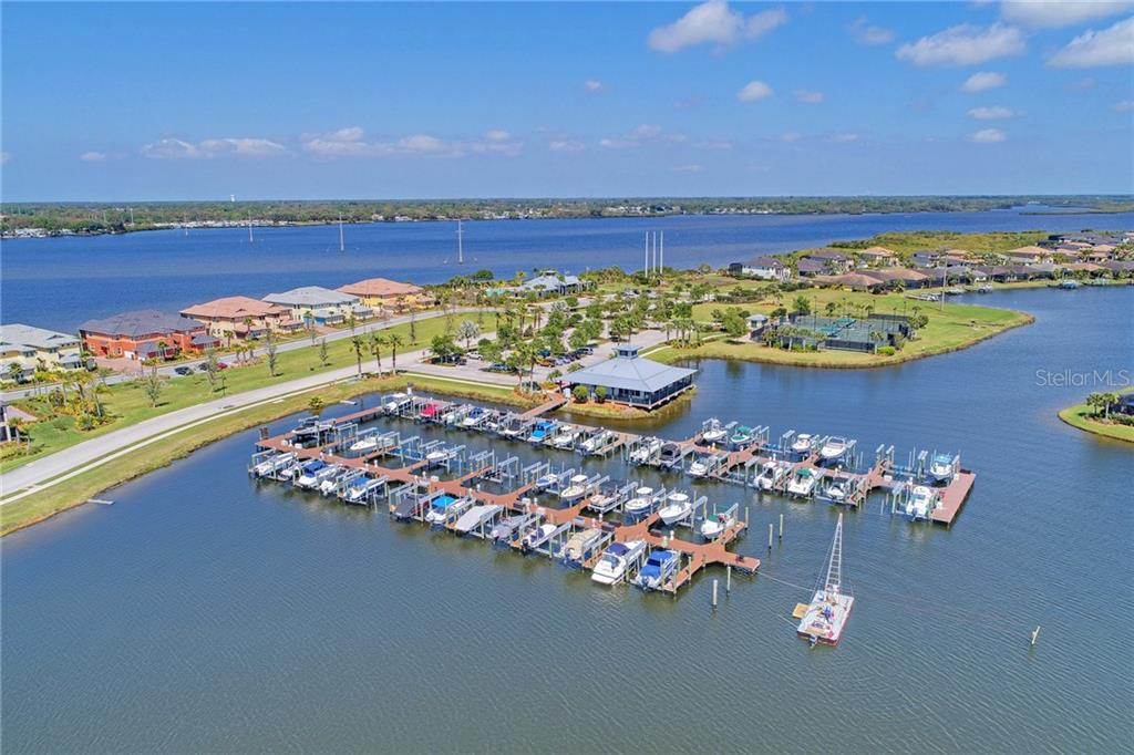 Community marina with very affordable boat docks to rent - Single Family Home for sale at 5712 Tidewater Preserve Blvd, Bradenton, FL 34208 - MLS Number is A4424693