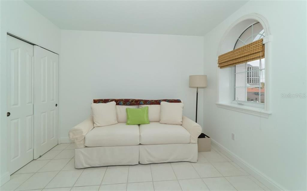 Second bedroom. - Condo for sale at 1283 Fruitville Rd #a, Sarasota, FL 34236 - MLS Number is A4426039