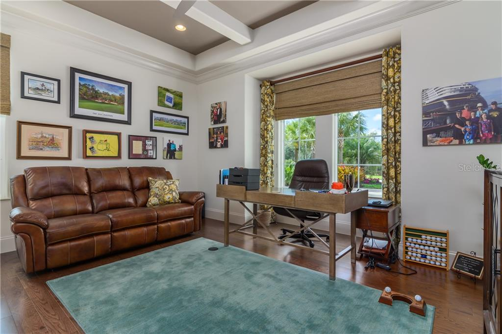 The Den. - Single Family Home for sale at 3507 Founders Club Dr, Sarasota, FL 34240 - MLS Number is A4428010