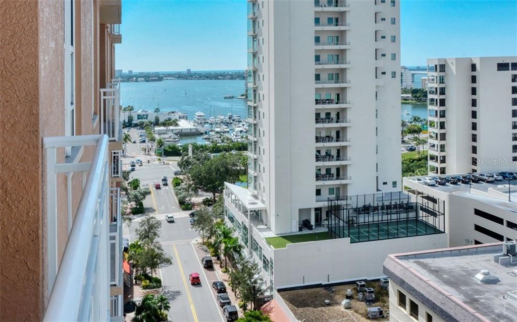 Shaded walkway leading to the Opera House - Condo for sale at 1350 Main St #1300, Sarasota, FL 34236 - MLS Number is A4428136