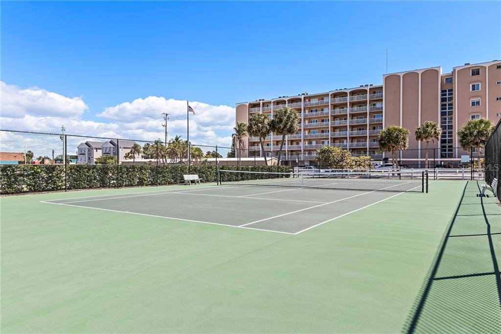 covered picnic space on the beach! - Condo for sale at 5300 Gulf Dr #406, Holmes Beach, FL 34217 - MLS Number is A4430634