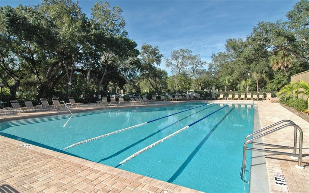 Meadows Country Club and Fitness Center pool, a separate amenity. - Single Family Home for sale at 5401 Downham Meadows, Sarasota, FL 34235 - MLS Number is A4436577