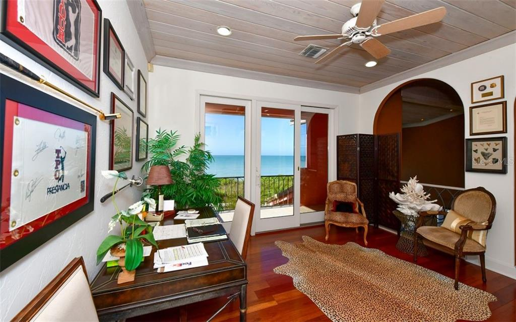 Deck with Awning - Single Family Home for sale at 3809 Casey Key Rd, Nokomis, FL 34275 - MLS Number is A4437924