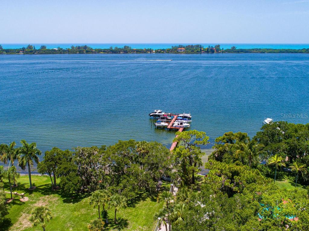 Shared boat dock saves money on upkeep - Single Family Home for sale at 158 Puesta Del Sol, Osprey, FL 34229 - MLS Number is A4439362