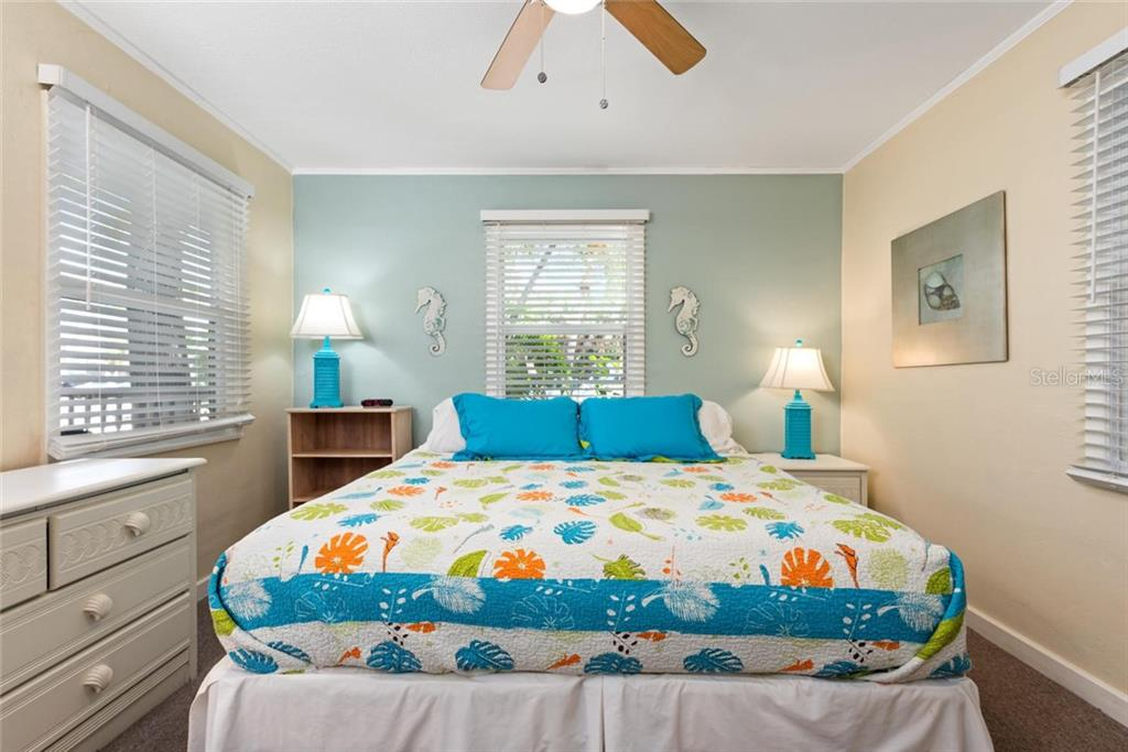 Tiger Bedroom. - Single Family Home for sale at 523 Beach Rd, Sarasota, FL 34242 - MLS Number is A4446354