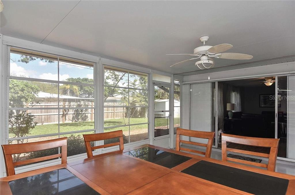Lanai - Single Family Home for sale at 105 Alba St E, Venice, FL 34285 - MLS Number is A4446473