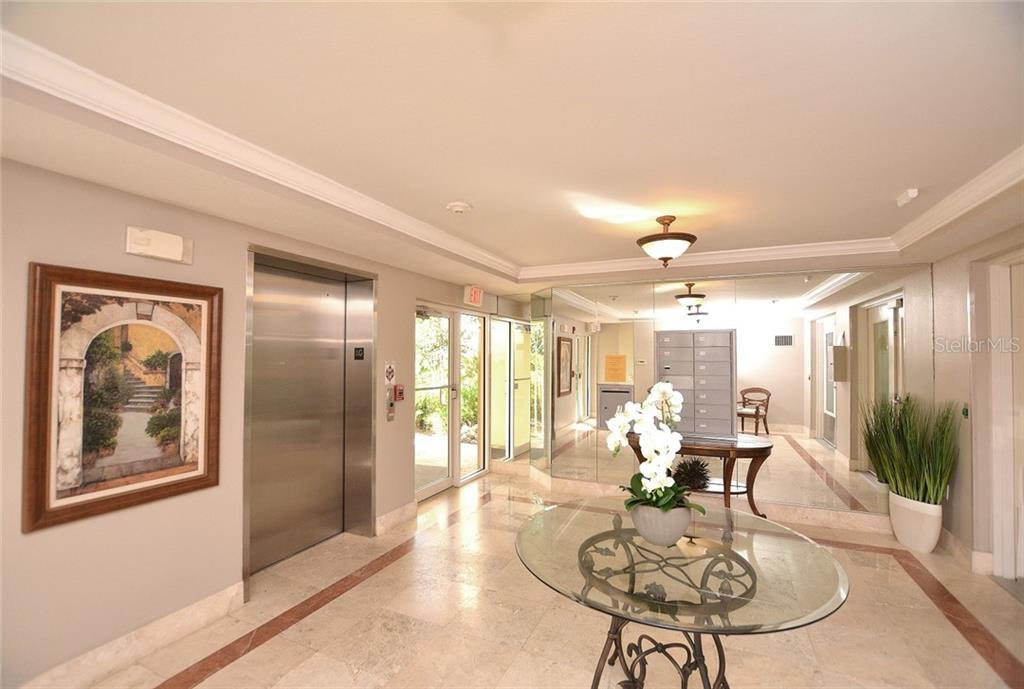Building Lobby - Condo for sale at 5304 Manorwood Dr #2b, Sarasota, FL 34235 - MLS Number is A4448585