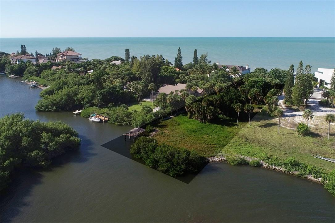 Property Appraiser AerIal Map - Vacant Land for sale at Casey Key Rd, Nokomis, FL 34275 - MLS Number is A4449174