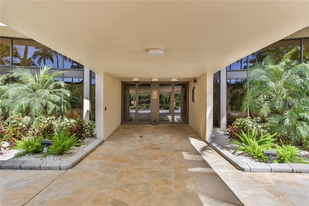 front building entrance - Condo for sale at 5855 Midnight Pass Rd #332, Sarasota, FL 34242 - MLS Number is A4450019