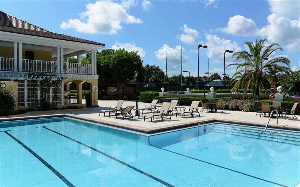 Community Pool - Single Family Home for sale at 586 N Macewen Dr, Osprey, FL 34229 - MLS Number is A4451482