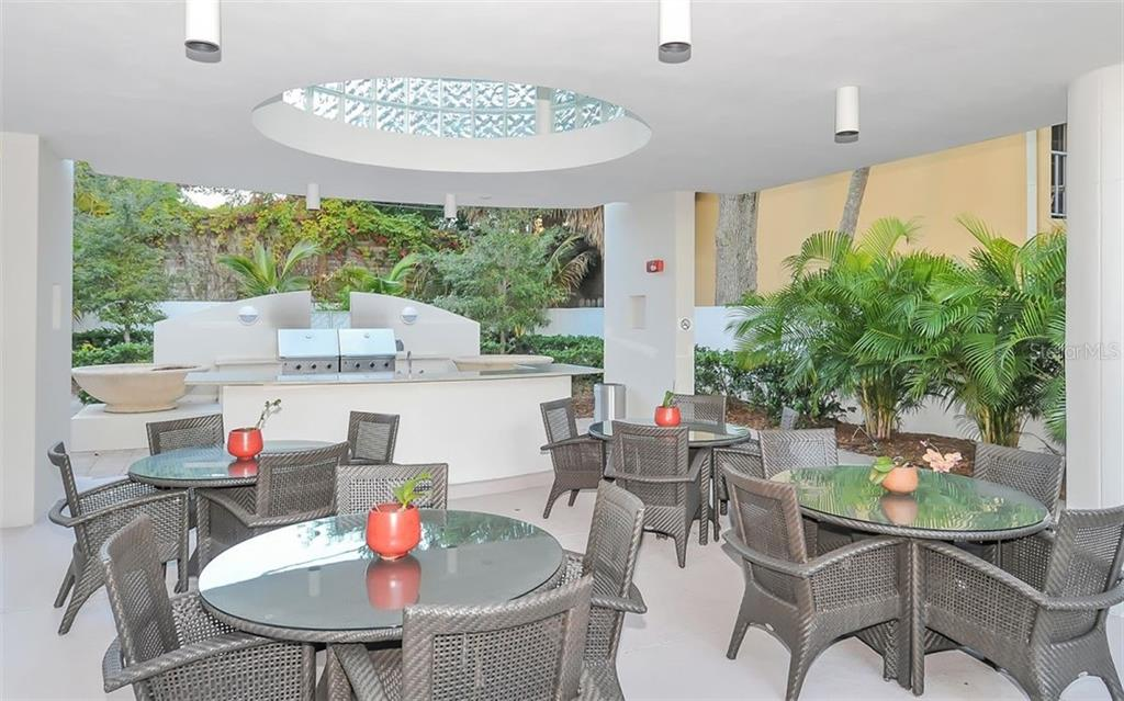 PATIO GRILL - Condo for sale at 401 S Palm Ave #603, Sarasota, FL 34236 - MLS Number is A4452262