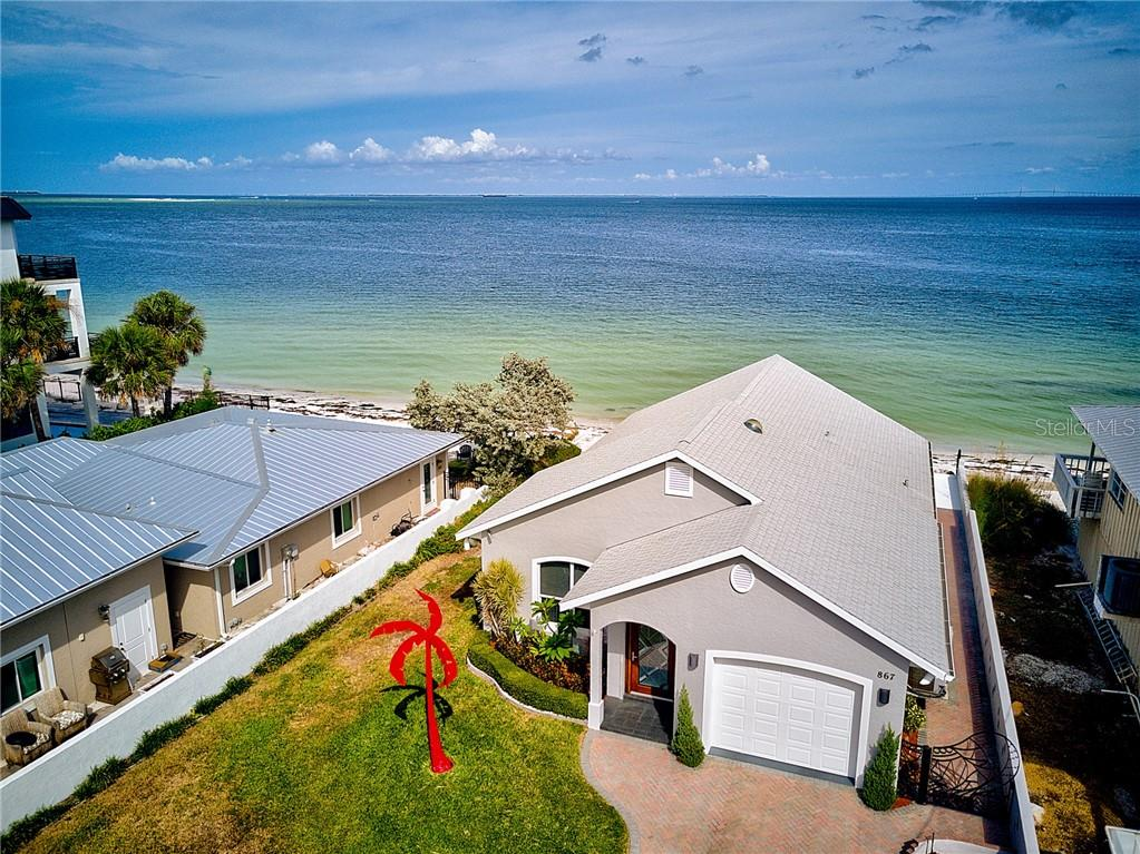 Gorgeous water views - Single Family Home for sale at 867 N Shore Dr, Anna Maria, FL 34216 - MLS Number is A4454292