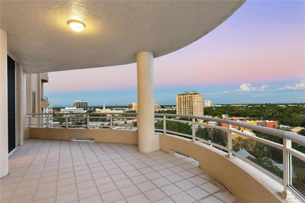 Master terrace. - Condo for sale at 500 S Palm Ave #91, Sarasota, FL 34236 - MLS Number is A4454405