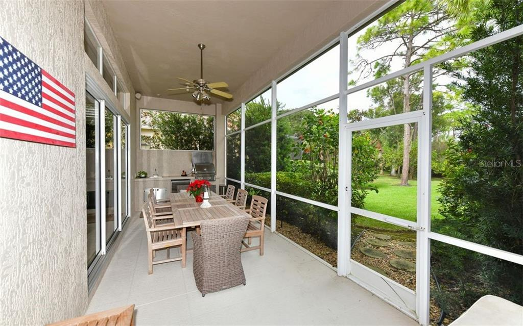 Lanai - Single Family Home for sale at 574 N Macewen Dr, Osprey, FL 34229 - MLS Number is A4455085