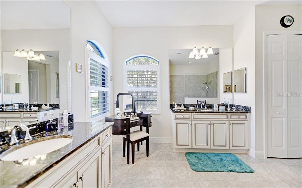 Master Bath...walk in shower - Single Family Home for sale at 8260 Larkspur Cir, Sarasota, FL 34241 - MLS Number is A4455087