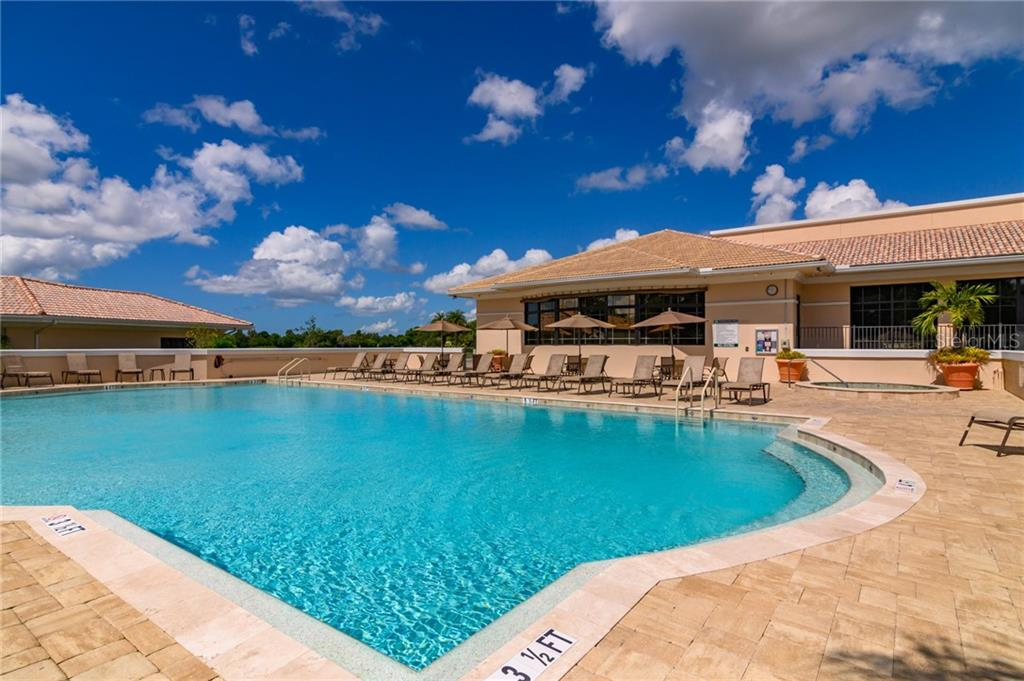 One of five community pools - Villa for sale at 4560 Samoset Dr, Sarasota, FL 34241 - MLS Number is A4455487
